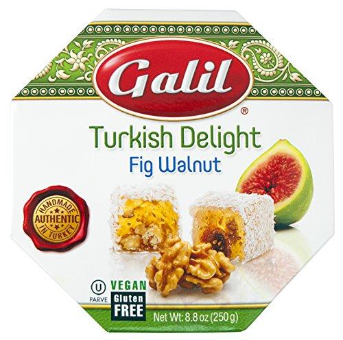Galil Turkish Delight Octagon, Almond, 8.8 Ounce