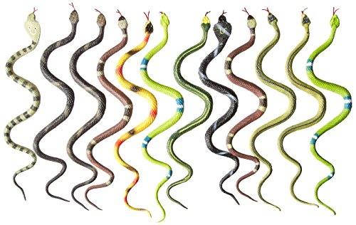 12 Rubber RAINFOREST Snakes/14