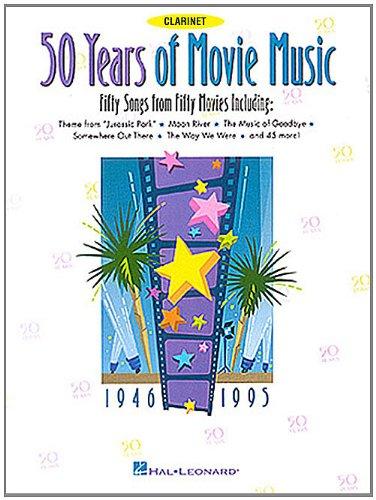 50 YEARS MOVIE MUSIC CLARINET