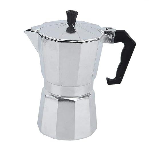 Cafetera de aluminio, cafetera italiana portátil Mocha ...