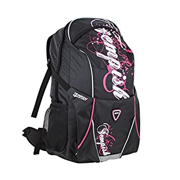 Zaino per pattini da ghiaccio e pattini a rotelle colore Nero o rosa 27 LSporttasche, custodia Tempish