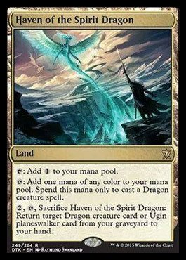 (Magic: The Gathering - Haven of The Spirit Dragon (249/264) - Dragons of Tarkir)