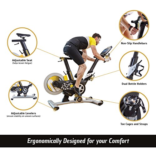 proform le tour de france pro 5 0 home exercise bike w. Black Bedroom Furniture Sets. Home Design Ideas