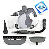 PurSteam Handheld Pressurized Steam Cleaner with 9-Piece Accessory Set Multi-Purpose and Multi-Surface All Natural, Chemical-Free Steam Cleaning for Home, Auto, Patio, More