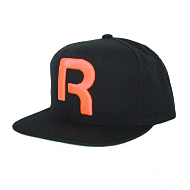 Reebok Classic Snapback Hat in Black and Orange  Amazon.co.uk  Clothing bb3ff56ff7f