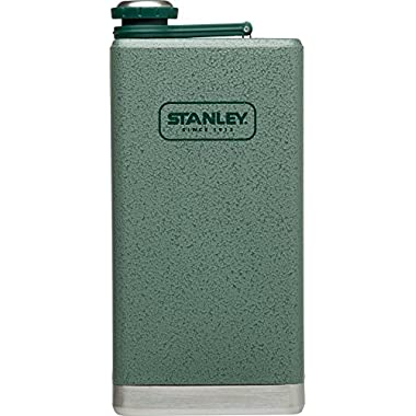 Stanley Adventure Stainless Steel Flask 12oz Hammertone Green
