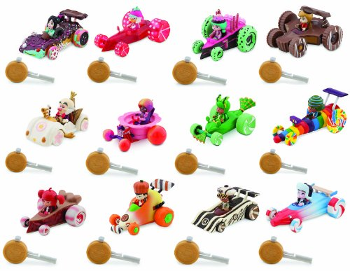 Amazon Com Wreck It Ralph Sugar Rush Racers Complete Disney