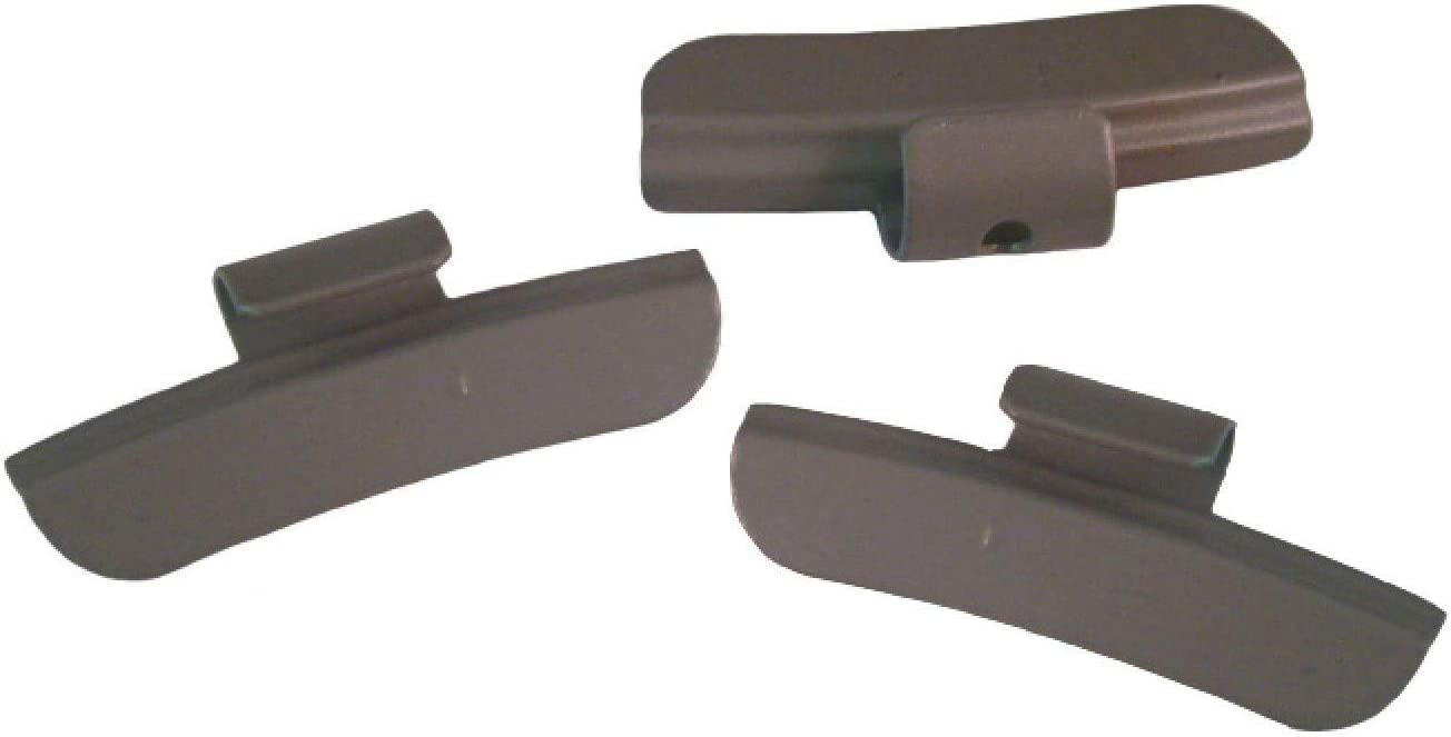 DWT-Germany 101227 50 St/ück 45g Schlaggewichte Auswuchtgewichte Wuchtgewichte F/ür Stahlfelgen Aus Stahl Legiert