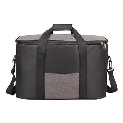 Thicken 34L Big Size Cooler Bag Insulated Takeaway Bag for Men Women Travel Picniic Lunch sac isotherme plus frais Plié