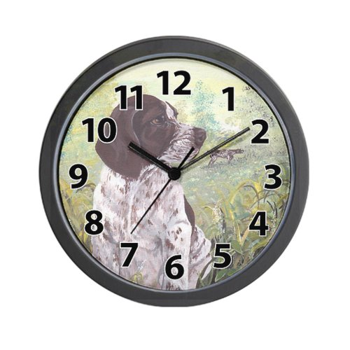 CafePress - German Shorthaired Pointer PD Wall Clock - Unique Decorative 10