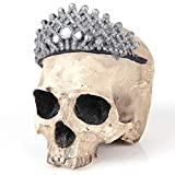 DEBRICKS Statues Africa Home Decor Skull for Decoration Resin Human Animal Skull Skeleton Abstract Sculptures Carving Skulls Queen Crown