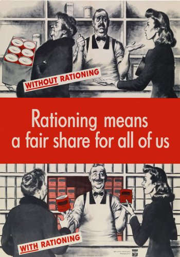 Amazon com: 2W75 Vintage 1940's WWII Rationing Means A Fair