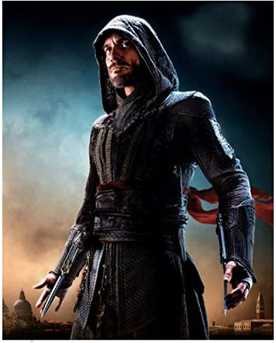 Assassin S Creed Michael Fassbender As Aguilar Ready To Fight 8 X