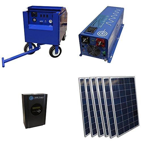 6KW Solar Wedge Generator (Aims Split Phase Inverter compare prices)