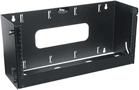 Amazon Com Middle Atlantic Pivoting Panel Mount Rack Spaces 4u Spaces Depth 6 Computers Accessories