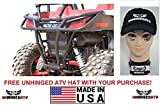 Bundle 2 items: Dragonfire Racing RockSolid Rear Bumper for Wildcat Trail/Sport and Free Unhinged ATV HAT!