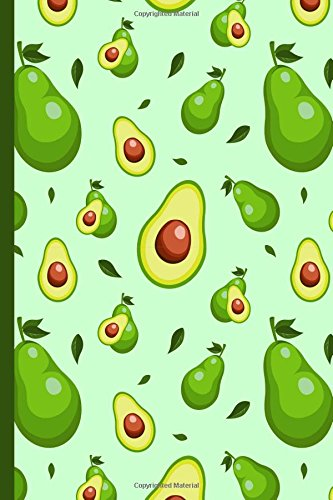Download Avocado World 6x9 Dot Grid Blank Notebook Journal 200 Pages: Guacamole Themed Bullet Diary pdf epub
