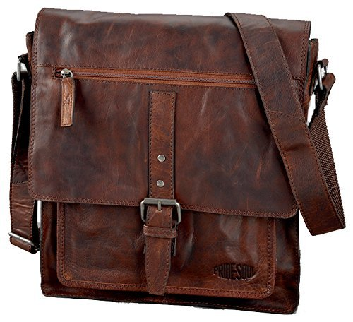 Paperflow Pride and Soul Ethan 15-Inch Laptop Leather Shoulder Bag (47184)