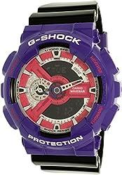 Casio Mens G-Shock GA110NC-6ADR Purple/BlackWatch
