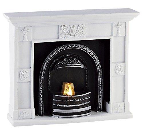 Rulke Rulke049660 Casting Resin Fireplace, 100 mm, Multi Color