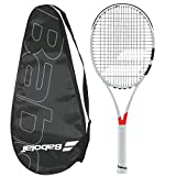 Babolat 2017-2018 Pure Strike 98 (16×19) – STRUNG with COVER – Tennis Racquet (4-1/2) For Sale