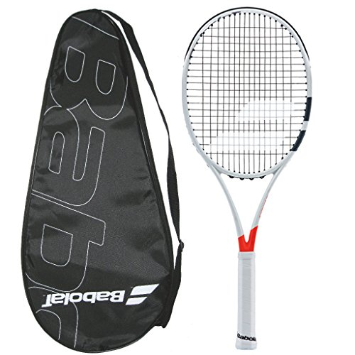 Babolat 2017-2018 Pure Strike 98 (16x19) - STRUNG with COVER - Tennis Racquet (4-3/8) - Babolat Pure Control Team