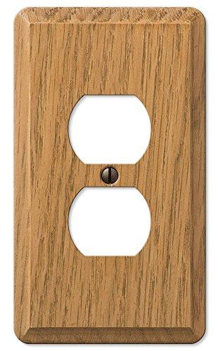 901dl Cntp Lte Finish Oak Wood (Wood Finish Switchplate)
