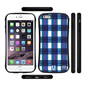Houston Astros Iphone Case's Shop 3380780M79759145 Head Case Designs Blue And White Flannel Fridays Hybrid Gel Back Case for Apple iPhone 6 Plus 5.5