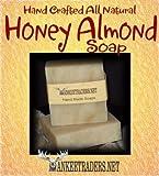 Honey Almond (Vegan, All Natural) – Handmade Soaps / 2 Bars, Health Care Stuffs