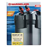 Marineland Magniflow Canister Filter 220 GPH For aquariums, Easy...