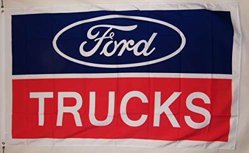 (Nuge Ford Trucks Car Flag 3' X 5' Indoor Outdoor Banner)
