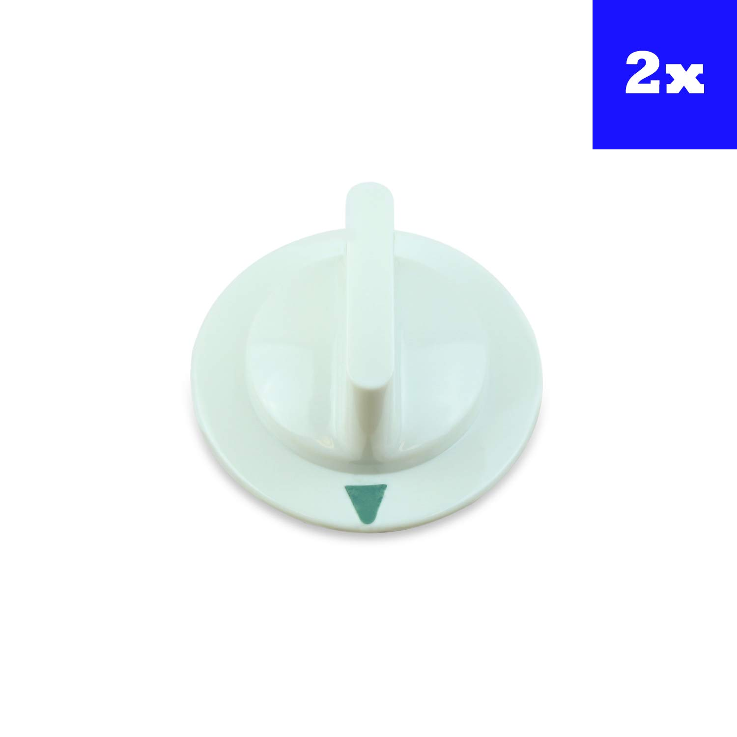 GE Dryer Timer Control Knob For WE1M652 AP3995164 PS1482196 Set of 2 by USA SmartParts