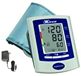 Zewa UAM-880UA Deluxe Automatic Blood Pressure Monitor With Universal Cuff (8.7 Inch To 18.9 Inch) and AC Adaptor