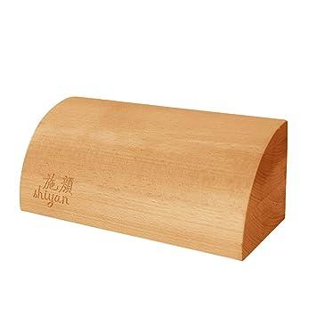 Amazon.com : Iyengar Quarter Cylinder Wooden Yoga Blocks ...