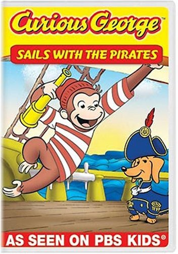 Curious George: Sails with the Pirates and Other Curious Capers! -