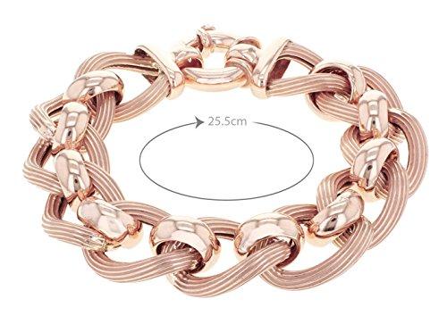 Tuscany Silver Fine Necklace Bracelet Anklet 925 Argent 20.5 Centimeters