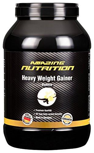 Weight Gainer - Perfekt Für Hardgainer Zum Zunehmen - Ideal Für Die Massephase (Vanille, 2500g)