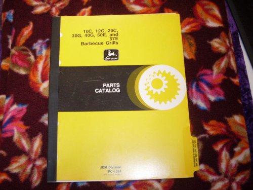 John Deere 10C/12C/20C Barbecue Grills OEM Parts Manual ()