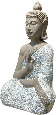 SDBRKYH Escultura tailandesa Buda, Jardín Estatua de Buda meditación Escultura Estatua de Buda Sentado artesanía Jardín Zen Decoración,20 * 30 * 54cm: Amazon.es: Hogar