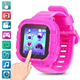 Watches For Kids Smart Watch Game Smartwatches Touch Screen Camera Recorder For Boys Girls Children's Day Birthday Christmas Gifts(Pink)