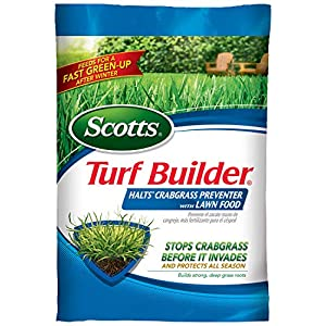 Scotts Turf Builder Halts Crabgrass Preventer with Lawn Food, 15,000-Sq Ft