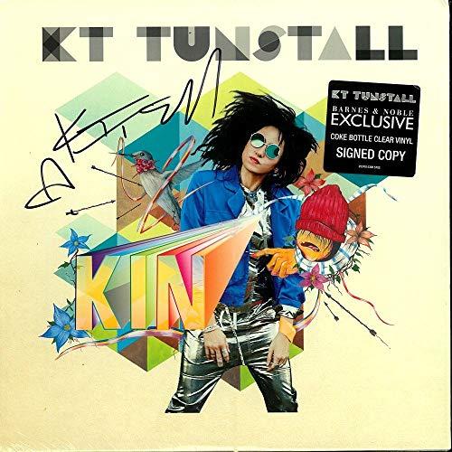 Bottle Signed - Kin - Limited Edition Coke Bottle Clear Vinyl - SIGNED copy