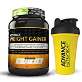 Weight Gainer 1Kg (2.2LBS) Banana with free shaker