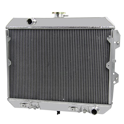 Primecooling 3 Row All Aluminum Radiator for Nissan /Datsun 280ZX 1981 1982 1983