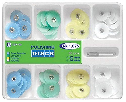 Polishing Discs Universal Kit Metal Bush, 80 Pcs