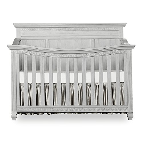 Evolur Madison 5 in 1  Flat Top Convertible Crib ()