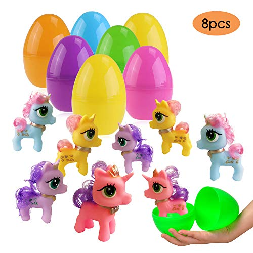 UNGLINGA Easter Basket Stuffers Unicorn Toys Filled Easter
