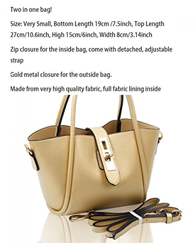 Women Size Bluebell For Women's 963 LeahWard® Tote Small Shoulder Handbags Girl Top q4PE8axw