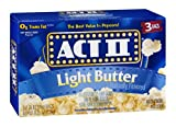 Act II Popcorn Light Butter 3 PK (Pack of 24)