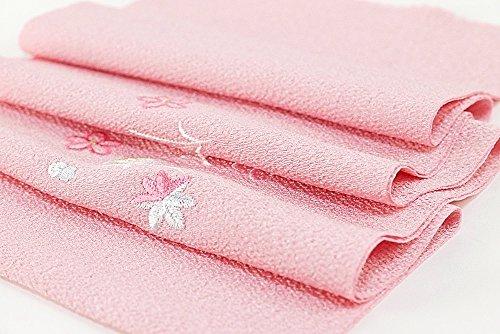 刺繍半衿 半襟 長襦袢 和装小物 レディース